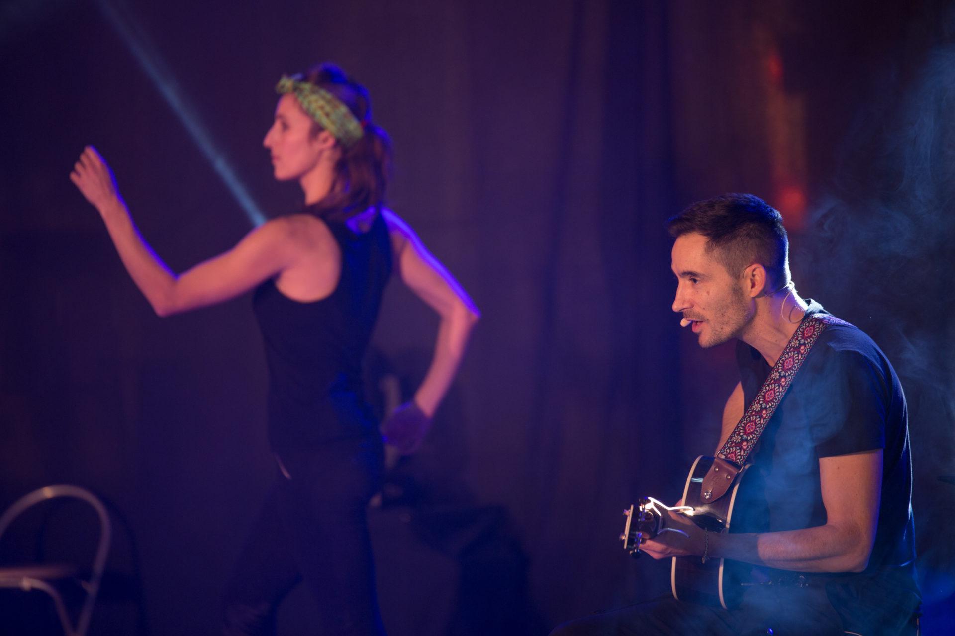 """Sortie de résidence """"concert mouvementé"""" par la Cie la boite à se créer - octobre 2019"""